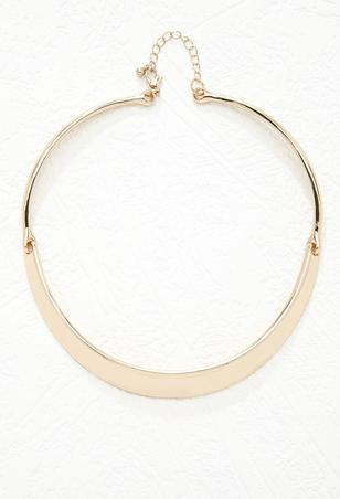 gold-forever21-curved-bar-collar-necklace