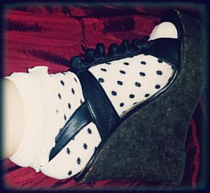 Steve Madden Shoes + H&M Socks