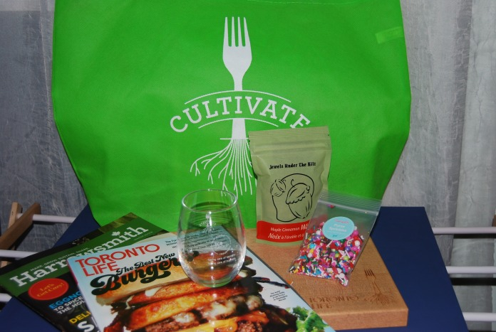 Cultivate Swag Bag Contents - VIP