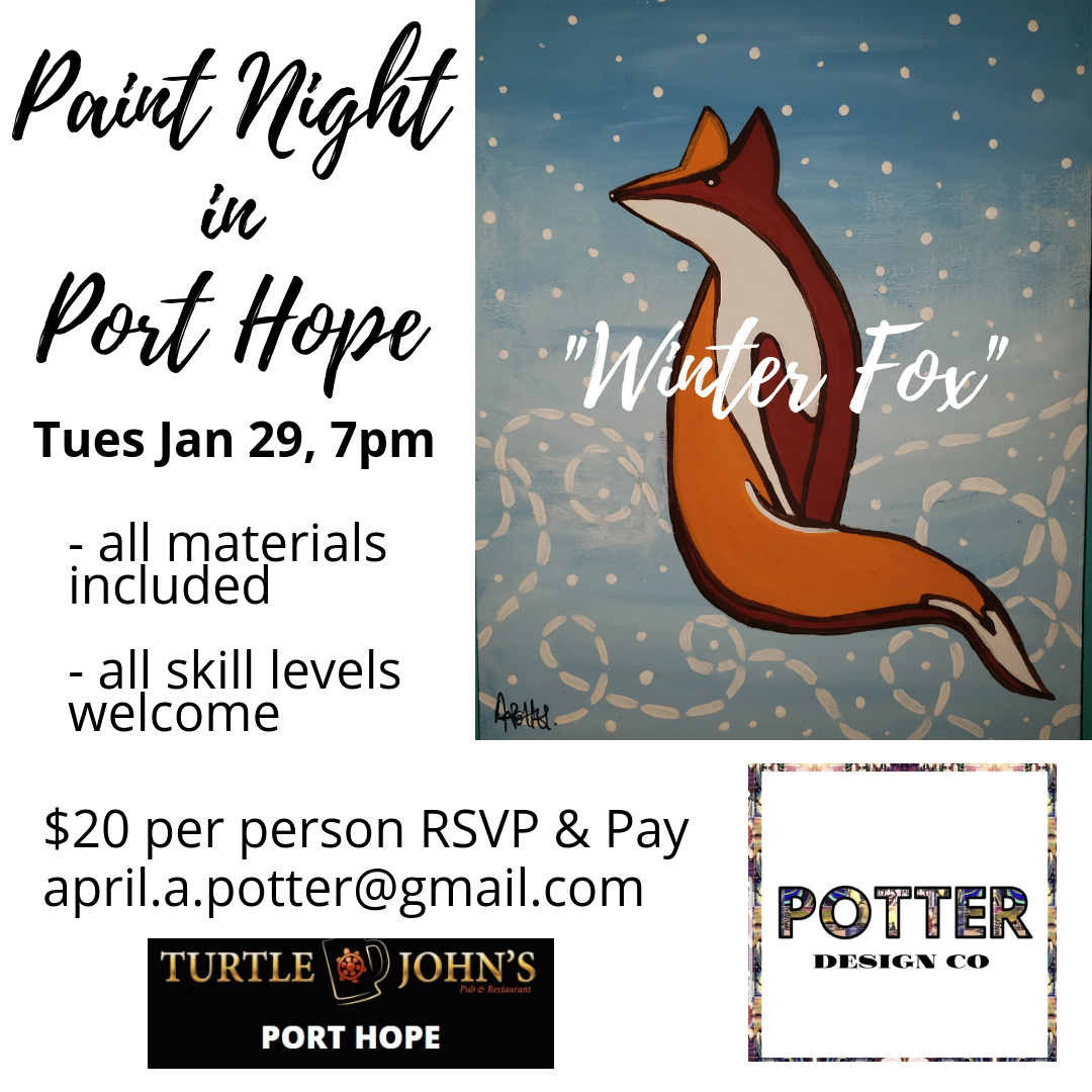 paint night jan 29