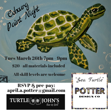 Cobourg Paint Night March