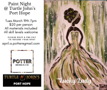 March Paint Night Port Hope