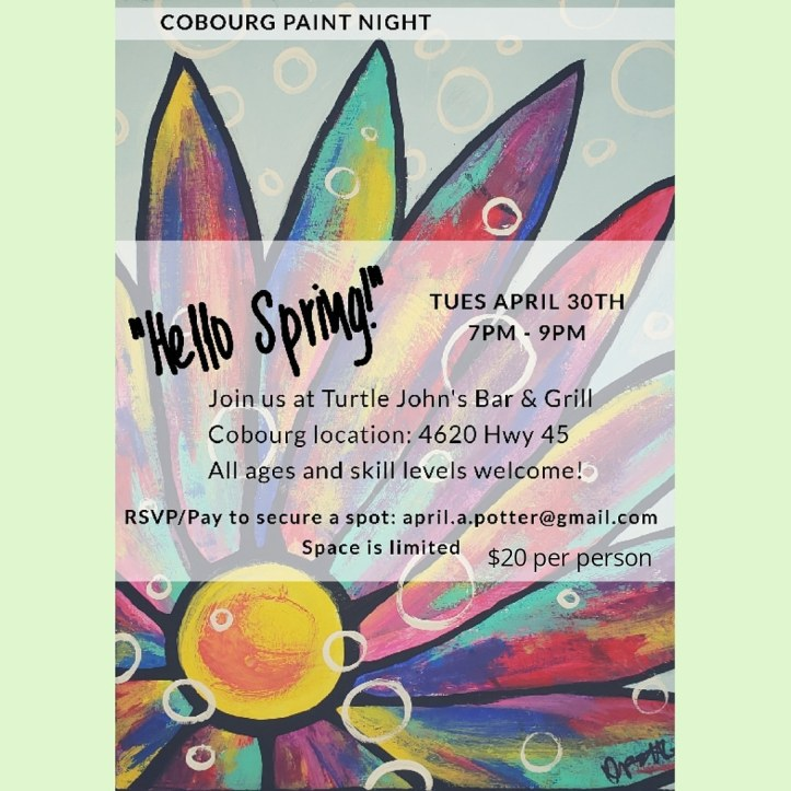 Paint Night Cobourg